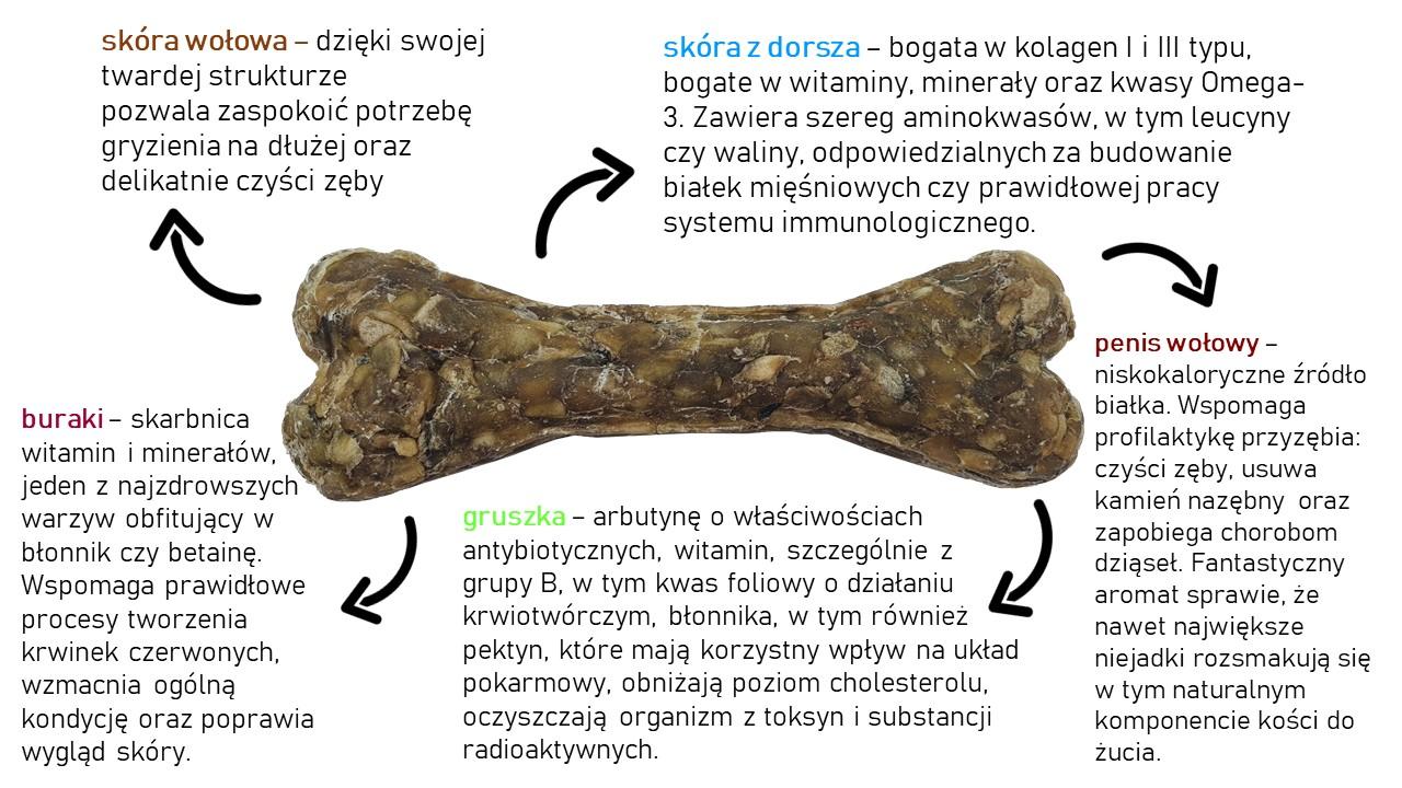 Kość do żucia dla szczeniąt 13,5 cm